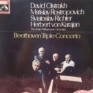 Beethoven And David Oistrakh Beethoven Triple Conc